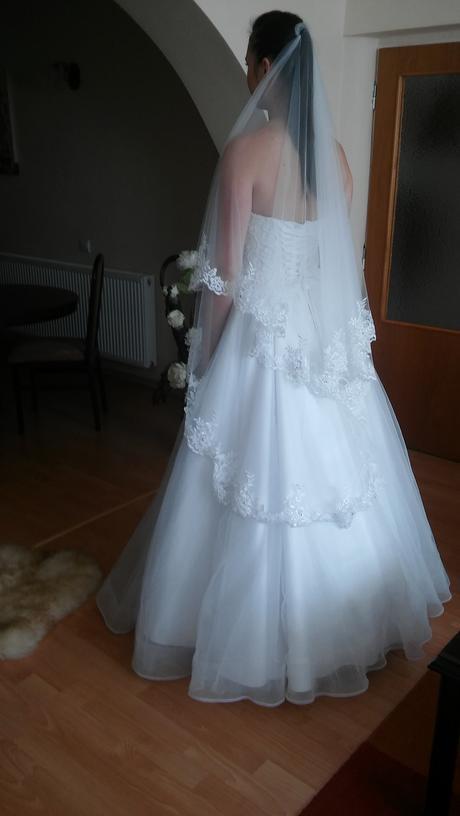 Svadobné šaty - veľkosť 39 - 50 cca, 39