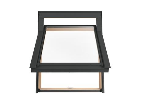 Dřevěná střešní okna Solstro s horním závěsem78x98,