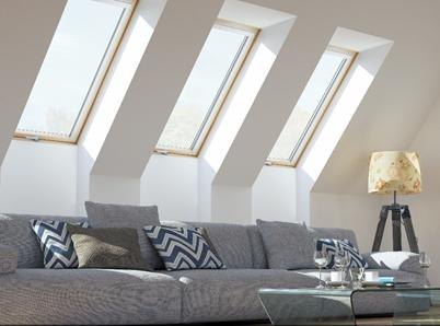 Dřevěné střešní okna Solstro 78x118cm,