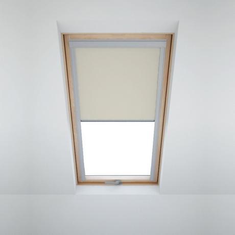 Zatemňovací roleta na střešní okna - béžová 78x118,