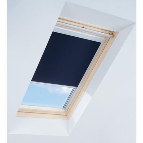 Zatemňovací roleta na střešní okna - modrá 78x118,