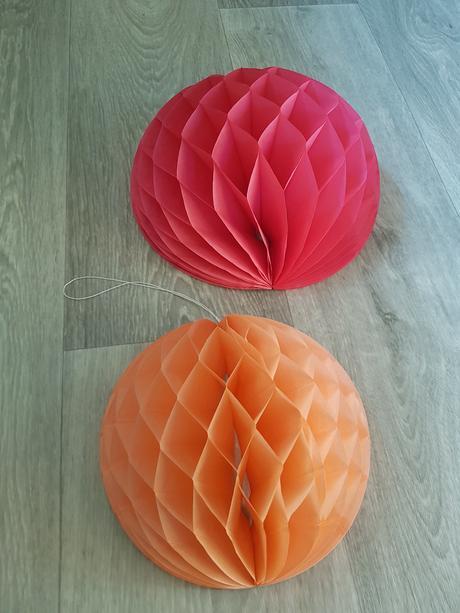 Honeycomb papierove gule,