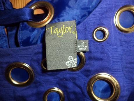 Fialove Puzdrove saty Taylor - XS, XS