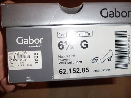 kvalitne kozene lodicky Gabor, 40