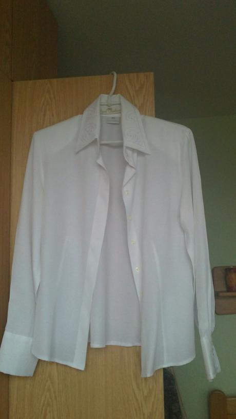 biela blúzka/košeľa, 38