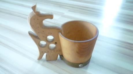 drevený krčah,