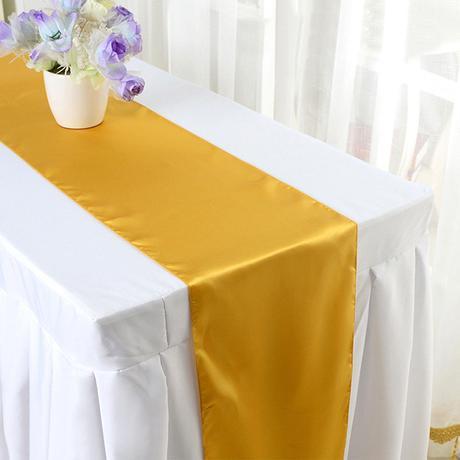 Saténové štóly na stôl,