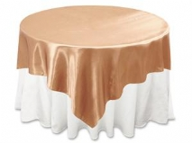 Saténový obrus na stôl,