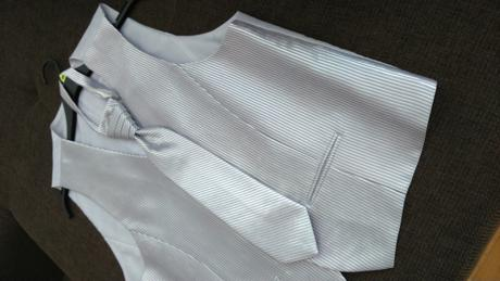 Vesta+kravata+ozdoba do vrecka obleku, 52