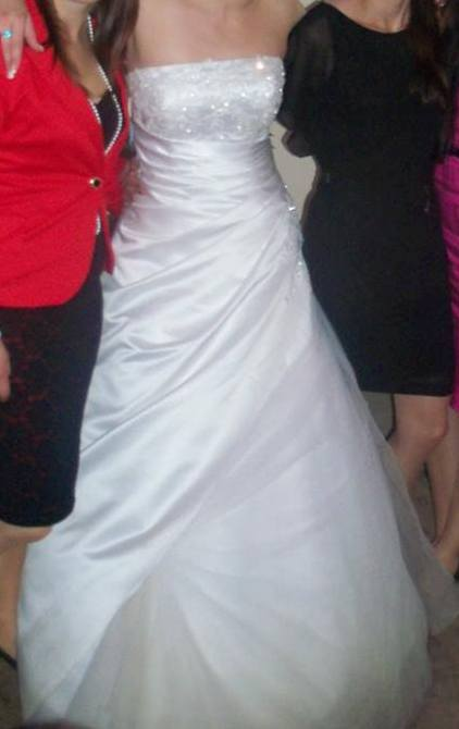 Svatební šaty - Daphne model Evianne, vel. 36-38, 36