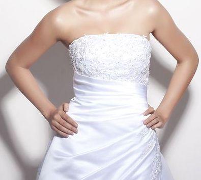 Svatební šaty - Daphne model Evianne, velikost 36, 36