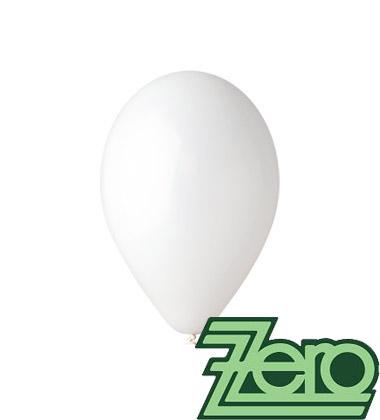 Balónky nafukovací Ø 26 cm bílé 20 ks,