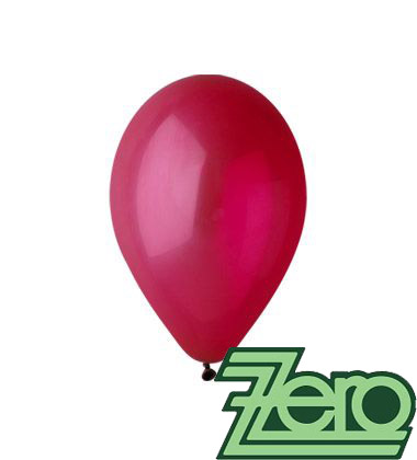 Balónky nafukovací Ø 26 cm bordó 100 ks,