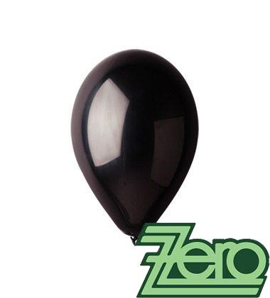 Balónky nafukovací Ø 26 cm černé 20 ks,