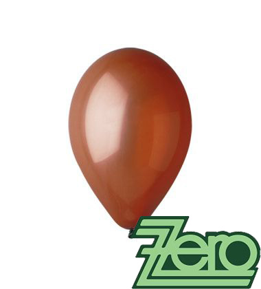 Balónky nafukovací Ø 26 cm hnědé 20 ks,