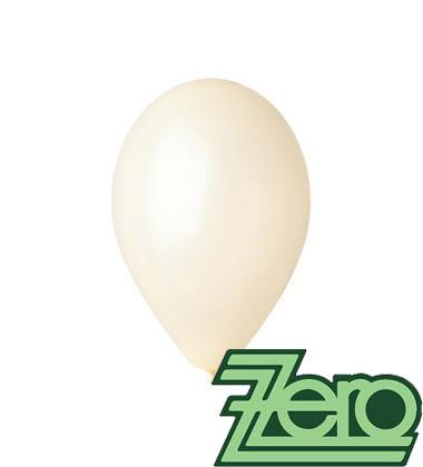 Balónky nafukovací Ø 26 cm krémové 100 ks,