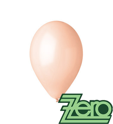 Balónky nafukovací Ø 26 cm lososová 100 ks,