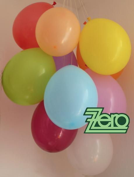 Balónky nafukovací Ø 26 cm pastelové (50 ks) - mix,