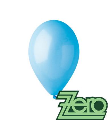 Balónky nafukovací Ø 26 cm sv. modré 100 ks,
