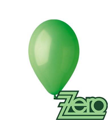 Balónky nafukovací Ø 26 cm sv. zelená 100 ks,