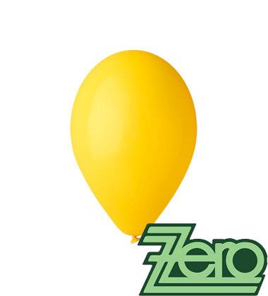 Balónky nafukovací Ø 26 cm žluté 100 ks,