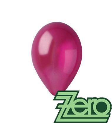Balónky nafukovací Ø 26 metalově bordó 20 ks,