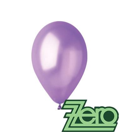 Balónky nafukovací Ø 26 metalově sv.fialová 100 ks,