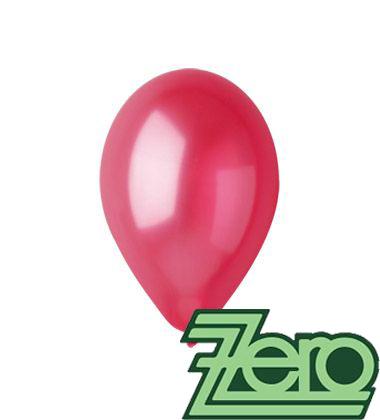 Balónky nafukovací Ø 26 metalově višňové 20 ks,