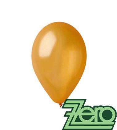Balónky nafukovací Ø 26 metalově zlaté 100 ks,