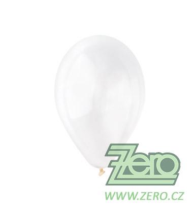 Balónky nafukovací Ø 26 pastelové 100 ks - transp.,