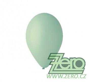 Balónky nafukovací Ø 26 pastelové 20 ks - mátová,