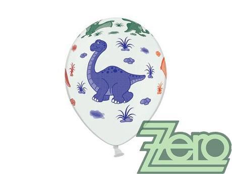 Balónky nafukovací Ø 36 cm (5 ks) - dinosauři,
