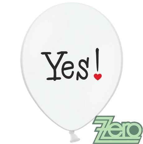 Balónky nafukovací Ø 36 cm (5 ks) - Will You,