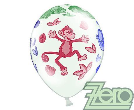Balónky nafukovací Ø 36 cm (5 ks) - ZOO,