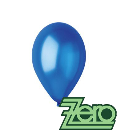 Balónky nafukovací pr. 26 cm - tm. modré 20 ks,