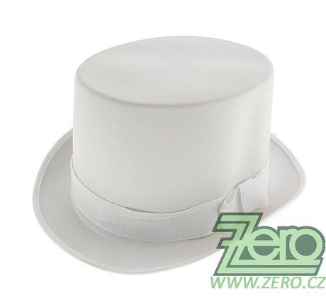 Cylindr na svatební auto - bílý,