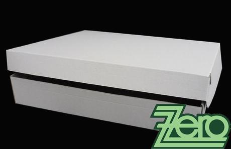 Krabice chlebíčková 38 x 42 x 7 cm - přírodní,
