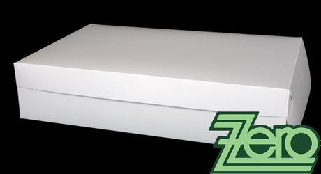 Krabice roládová 30 x 45 x 10 cm - bílá,