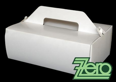 Krabička papírová s uchem 18 x 27 cm,