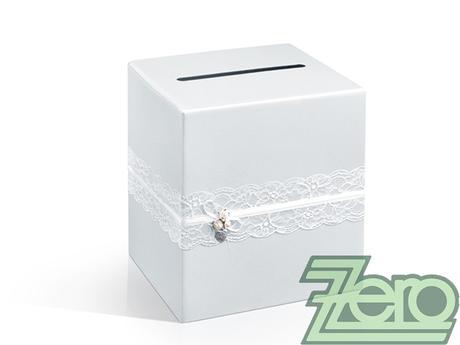 Krabička (truhlička) svatební na přání - perleťová,