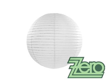Lampión závěsný papírový pr. 25 cm - bílý,