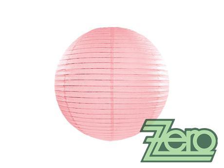Lampión závěsný papírový pr. 25 cm - růžový,