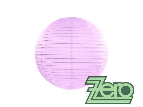 Lampión závěsný papírový pr. 25 cm - sv. fialová,