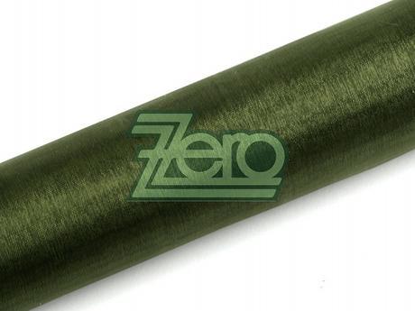 Organza 16 cm x 9 m - tmavě zelená,