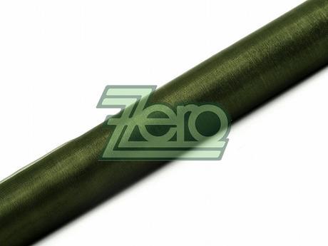 Organza 36 cm x 9 m - tm. zelená (neobšitá),