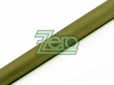 Organza 38 cm x 9 m - olivově zelená (obšitá),