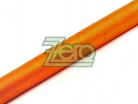 Organza 38 cm x 9 m - oranžová (obšitá),