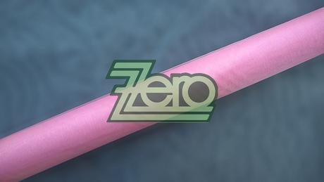 Organza 38 cm x 9 m - růžová (obšitá),