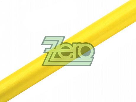 Organza 38 cm x 9 m - žlutá (obšitá),