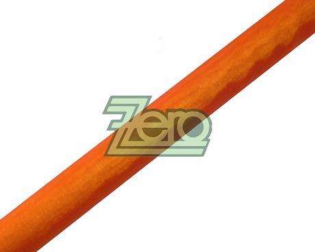Organza 40 cm x 10 y - oranžovo-červená (obšitá),